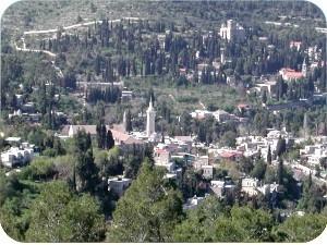 View of Ein Karem